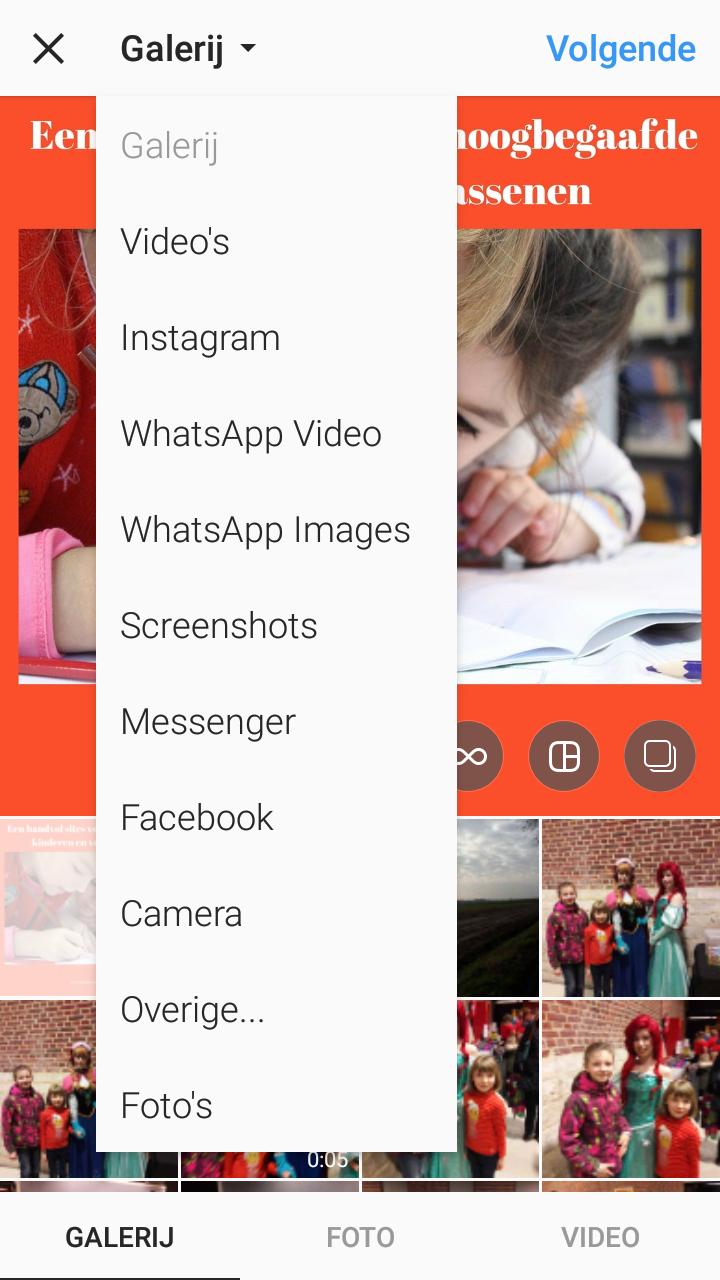 Google drive Instagram