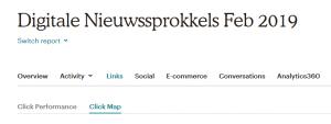 Click Map: op welke link wordt het meest geklikt ?
